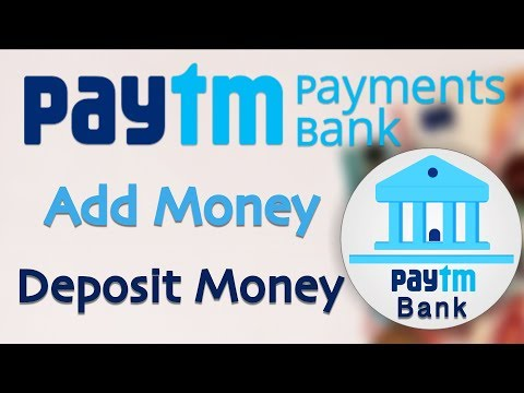Add Money or Deposit money to Paytm Payments Bank