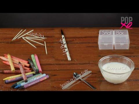 DIY: How to Make Lipstick With Crayons | Homemade Lipstick - POPxo