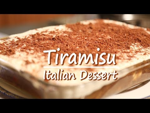 Tiramisu | Pudding | Mallika Joseph Food Tube