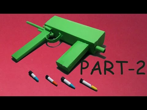 | DIY | How to make a paper '''Hell Weapon'''that shoots paper bullets ||  Toy weapons||( PART -2 )
