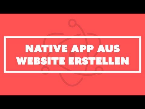 #73: So erstellt man eine native App aus einer Webseite | Martin Wolf Screencast