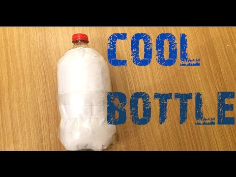 how to keep water cool [water bottle] life hack