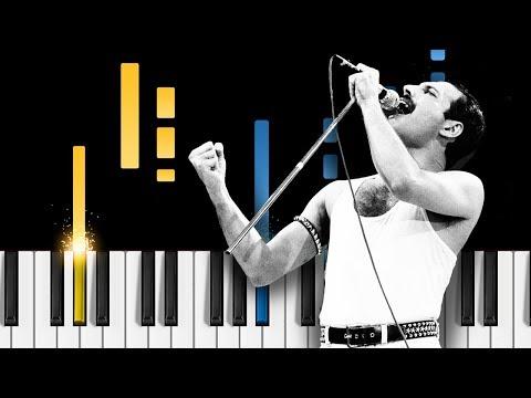 Queen - Love Of My Life - Easy Piano Tutorial