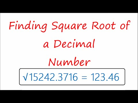 Finding square root of a Decimal Number easily | Square Root Trick | Team MAST