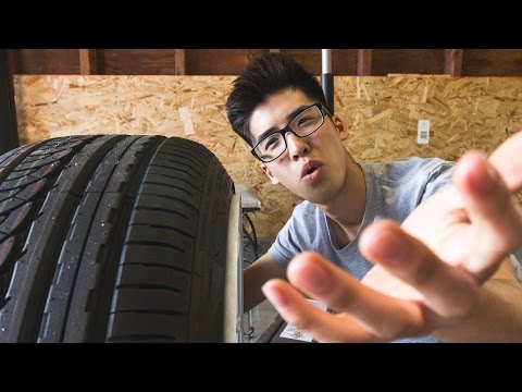 THE KEY TO PERFECT FITMENT! Stretched tires...