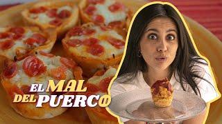 CUPCAKE de PIZZA en MICROONDAS, ¿EPIC o EPIC FAIL? | 🐽EL MAL DEL PUERCO