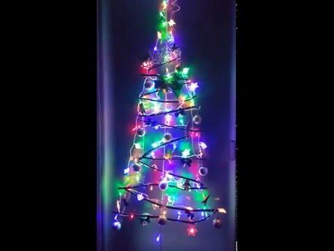 나뭇가지 트리 DIY Christmas Twig Tree