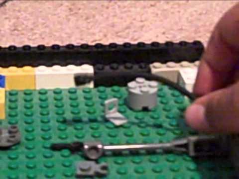 How to make a Lego minigun.