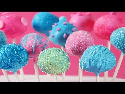 Cake Pops Recipe Demonstration - Joyofbaking.com