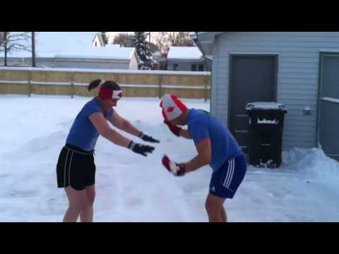 How Canadians do Burpees