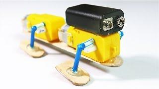 كيف تصنع روبوت رباعي الأرجل يمشي علي الارض