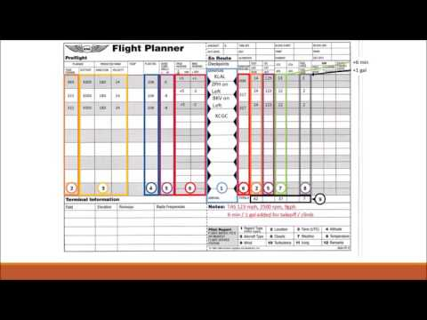 VFR Nav Log Introduction