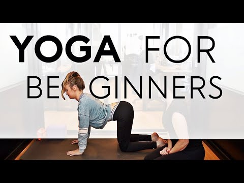 Yoga For Beginners Class With Kyra From OKBaby / KBaby - Fightmaster Yoga beginning yoga poses