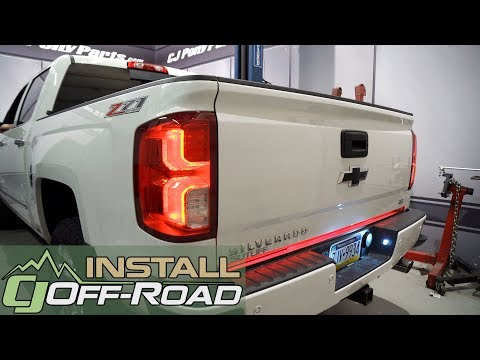 Chevrolet Silverado/GMC Sierra PUTCO SwitchBlade LED Tailgate Light Bar 60