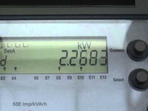 EDMI solid state kWh meter
