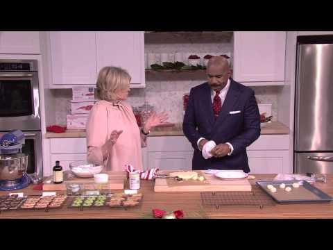 Martha Stewart's holiday cookie recipe