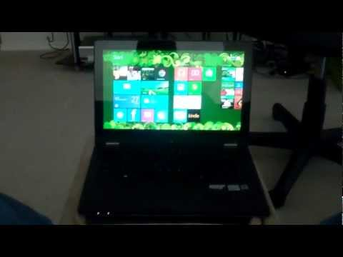 Lenovo Yoga 13 Boot Up