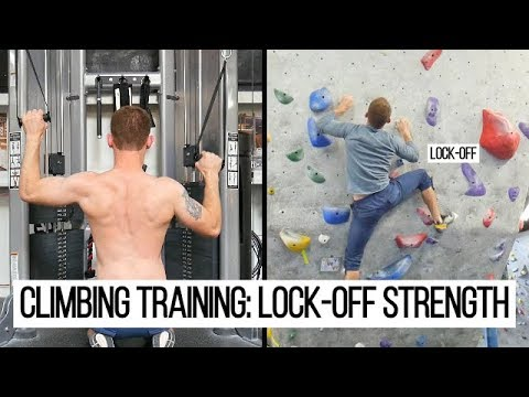 Climbing Training: 5 Exercises for Lock-Off Strength