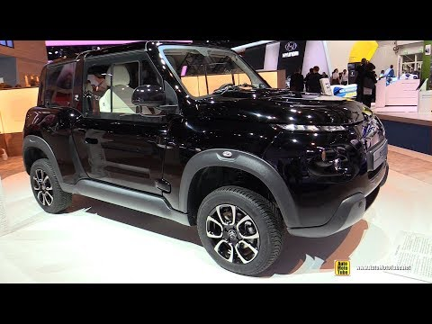 2018 Citroen e-Mehari by Courreges Electric Vehicle - Walkaround - 2017 Frankfurt Auto Show