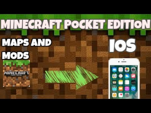 How to download Maps and MODS in MInecraft PE for IOS 2017 TRICK!!!! tutorial.