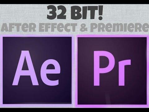 Adobe Premiere pro+After Effects 32-Bit Kurulum