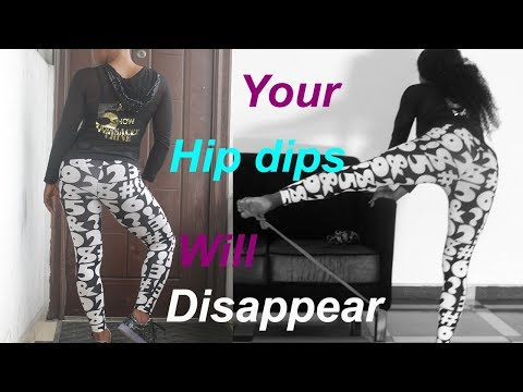 This Will Make Your  hip dips Disappear (Wider Hips Workout) hip dips fix at home in 2018