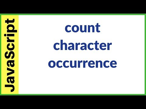 javascript - how to count character occurrences in a string using javascript [ with source code ]