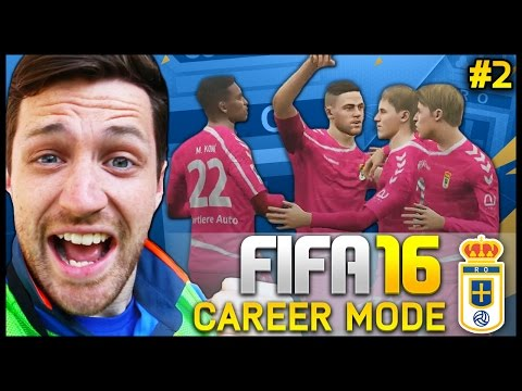 Real Oviedo Career Mode #2 - NEW SIGNINGS!!! - Fifa 16