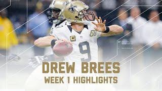 Drew Brees Highlights Raiders Vs Saints Nfl Week 1 Player Highlights