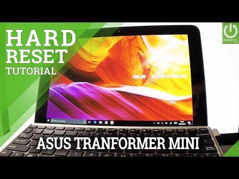 How to Hard Reset ASUS Transformer Mini - Master Reset / Format