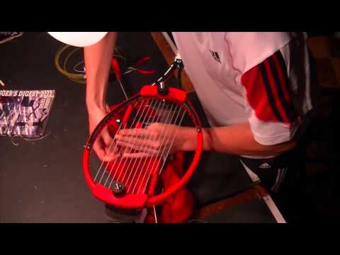 Intro to Tennis Stringing Using a Drop Weight.