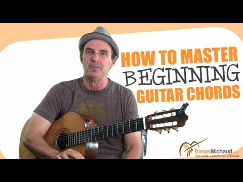 How To Play Beginner Guitar Chords Easily And Quickly - My Step-by-Step System