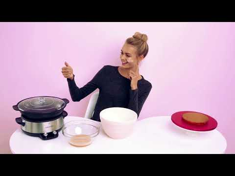 How To Make A Victoria Sponge Cake - Slow Cooker
