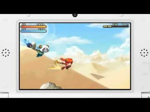 [KMS]MapleStory 3DS Preview Trailer.
