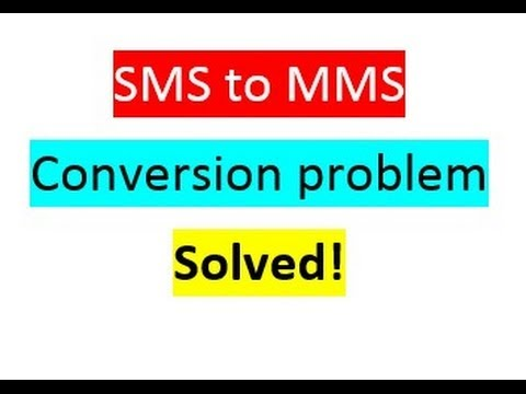 How to disable SMS to MMS conversion on Samsung Galaxy S3 100% worked