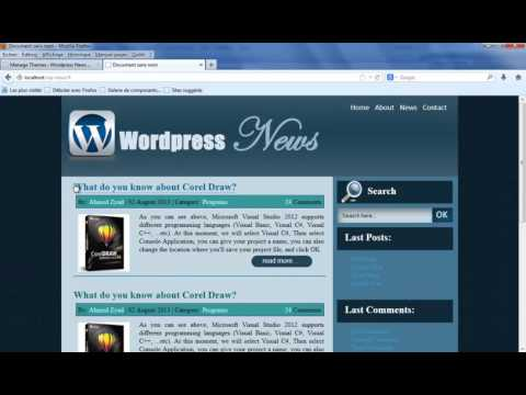 Lesson 17   Wordpress Design Theme   Create Header, Footer, and Sidebar Pages