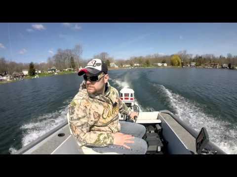 Early Spring Bass Fishing - Michigan