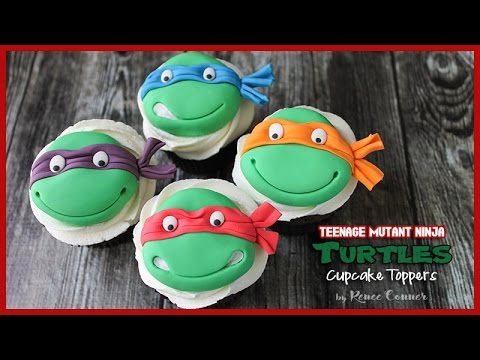 TMNT Cupcake Toppers | Renee Conner
