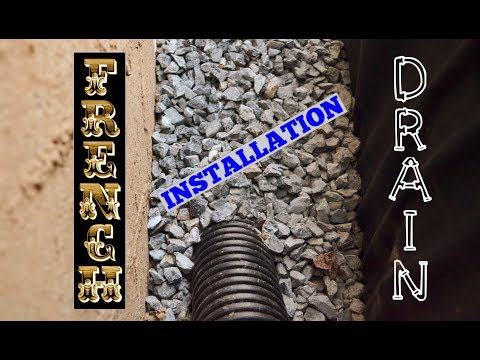 French Drain Installation - How To