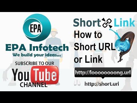 Create Short Link for Any kind of URL in easy ways, URL Shortener Tutorial