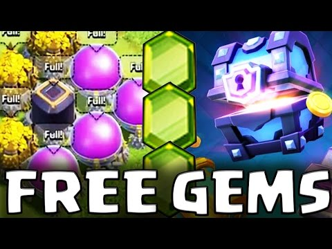 How To Get Free Gems on Clash of Clans or in Clash Royale | Super Magical Chests, New Updates