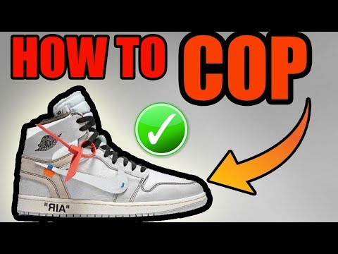 How To Get The OFF WHITE JORDAN 1 WHITE For RETAIL ! | 2018 OFF WHITE JORDAN 1 Release Info