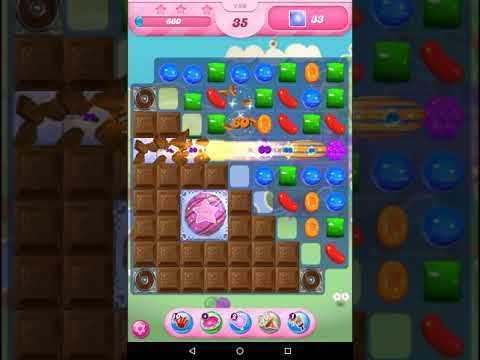 Candy Crush Saga Level 750 - with instructions