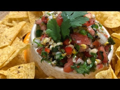 Great Roasted Corn and Poblano Salsa Texas Style BBQ and Cuisine
