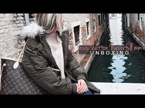 Louis Vuitton Neverfull MM Unboxing // StefyTalks