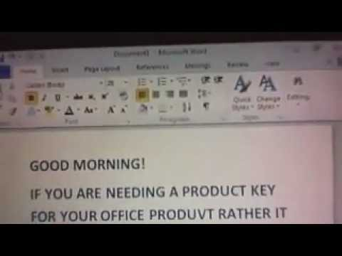 OFFICE PRODUCT KEY ACTIVATOR (ACTIVATION PROGRAM) FROM THE SOFTWARE GUY