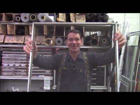 How to fix, replace metal screening, repair house window screen