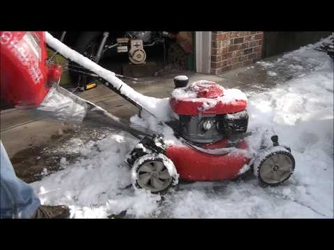 Where is the FUEL FILTER on my HONDA Lawnmower? Cleaning the FUEL SYSTEM