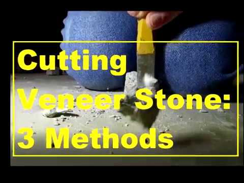 3 Easy Ways to Cut Veneer Stone