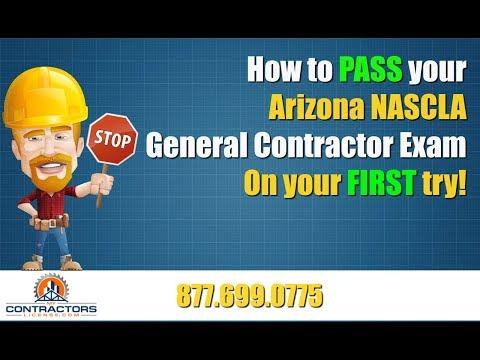Arizona General Contractor Exam Prep Course 🔨 🔨